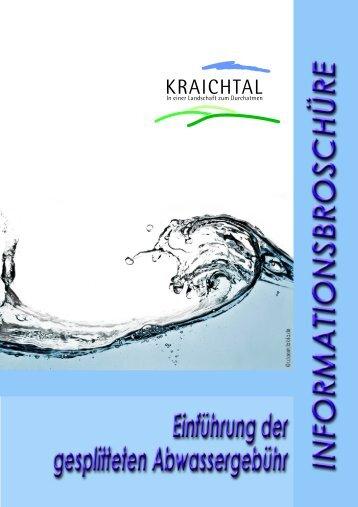 Informationsbroschüre - Stadt Kraichtal