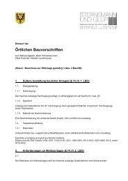 Örtliche Bauvorschriften - Stadt Kraichtal