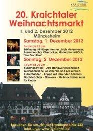 Sonntag, 2. Dezember 2012
