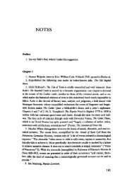 The Progress of Romance: Literary Historiography and the Gothic ...
