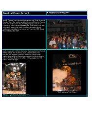 Drum Day 2003 - Freaktal Drum School & Shop