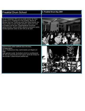 Drum Day 2001 - Freaktal Drum School & Shop