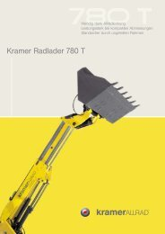 Kramer Radlader 780 T