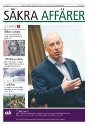 Tillförlitliga affärer I hetluften Räkna i pengar - Publikationer Provisa ...