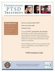 Understanding PTSD Treatment - National Center for PTSD - US ...