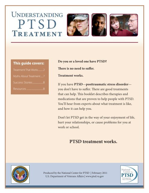 Understanding PTSD Treatment - National Center for PTSD - US ...