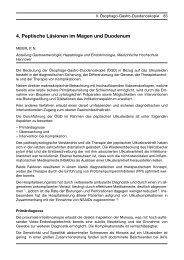 4. Peptische Läsionen im Magen und Duodenum - DGVS