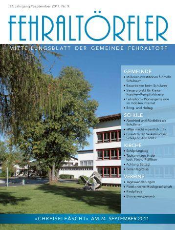 am 24. september 2011 - Gemeinde Fehraltorf