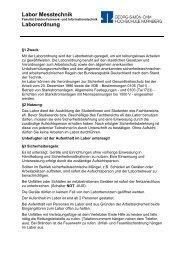 Laborordnung - Ohm-Hochschule Nürnberg