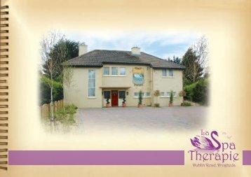 Download Brochure - La Spa Therapie Drogheda