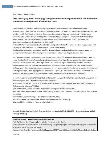 Neighbourhood Branding_100416 - Regionalplanung und Bauen ...
