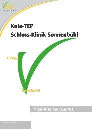 Knie-TEP Schloss-Klinik Sonnenbühl Sonnenbühl Sonnenbühl