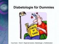 Diabetologie für Dummies