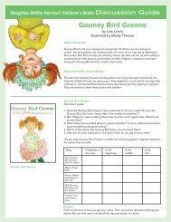 Gooney Bird Greene - Houghton Mifflin