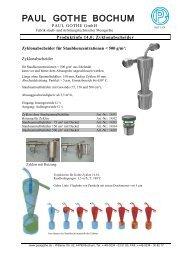 Zyklon - Paul Gothe GmbH