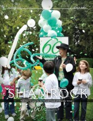 ShAmRoCk FALL 2010/WinteR 2011 - The Chandler School