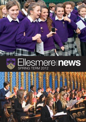 SPRING TERM 2012 - Ellesmere College