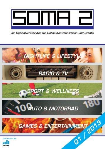 Mediadaten / Kennzahlen Gesamt - SOMA 2 GmbH