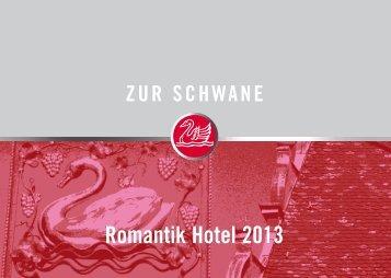 Romantik Hotel 2013 - Weingut zur Schwane - Online Shop - Zur ...