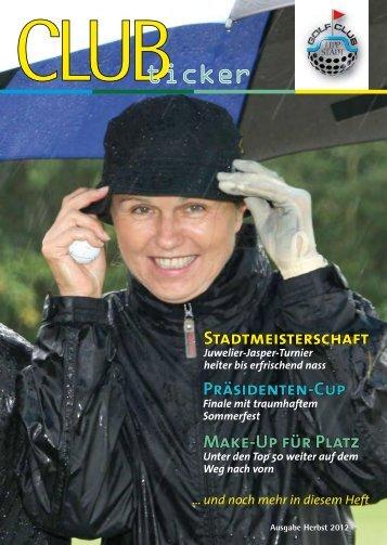 Herbst 2012 - Golfclub Lippstadt