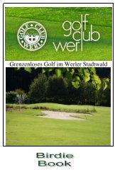Birdie Book - Golfclub Werl