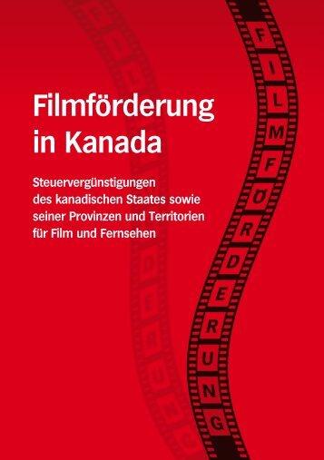 Filmförderung in Kanada - Canada International