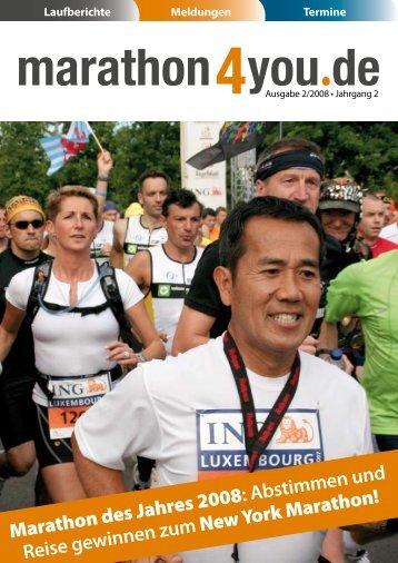 Ausgabe 2/2008 - Marathon4you.de