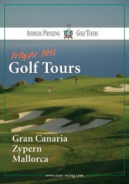 Golf Tours - andreas prinzing - golf academy