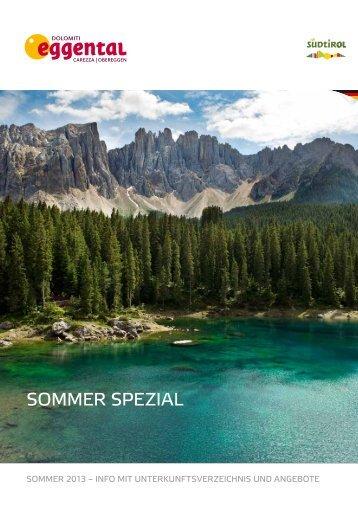 Sommer Spezial - Eggental