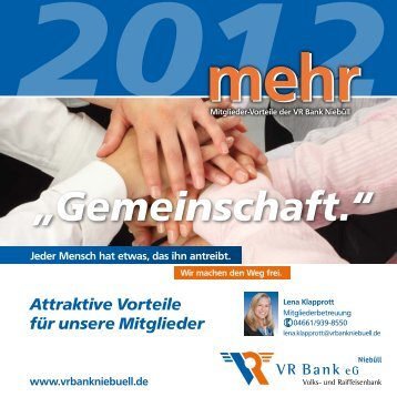 Mitglieder - VR Bank eG, Niebüll