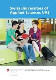 Swiss Universities of Applied Sciences UAS - HTW Chur