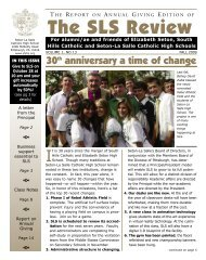 Fall 2009 - Seton-La Salle High School