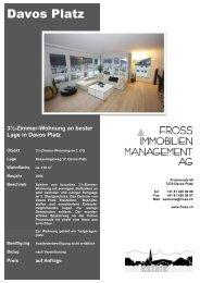 3½-Zimmer-Wohnung an bester Lage in Davos Platz