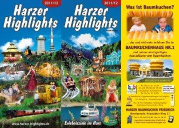 Was ist Baumkuchen? - bei den Harzer Highlights