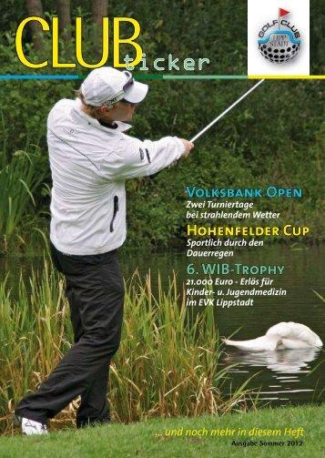 Sommer 2012 - Golfclub Lippstadt
