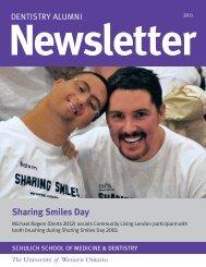 Sharing Smiles Day - Schulich School of Medicine & Dentistry ...