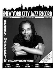 September 2012 - The New York City Jazz Record