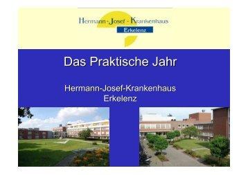 Das Praktische Jahr - Hermann-Josef-Krankenhaus Erkelenz