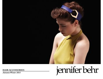 Hair accessories Autumn/Winter 2011 - Sternlab is Becky Stern.