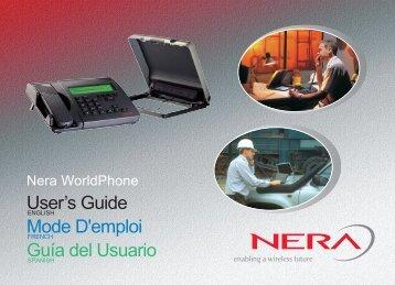 User's Guide Mode D'emploi Guía del Usuario