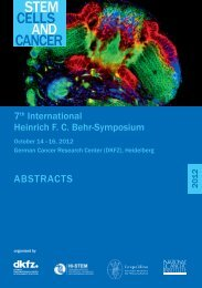 Download the Abstract Book as a PDF-file - German Cancer ...