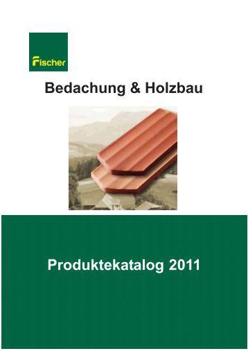 Produkteliste 2011 - Fischer & Cie AG