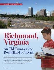 Feature 061312 p26-35 Richmond.FS.qxd - Keneseth Beth Israel