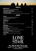 LIGHT SNACKS LONE sun LOAF - Lone Star - Page 2