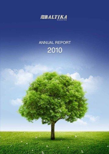 Annual Report 2010 - Baltika Breweries
