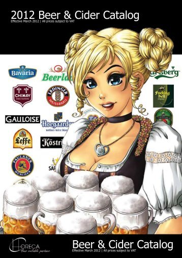 Beer & Cider Catalog 2012 Beer & Cider Catalog - Horeca ChiangMai