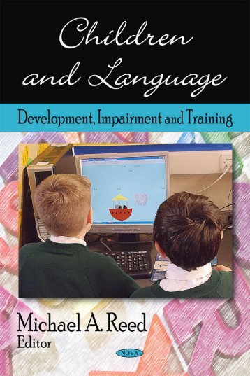 children and language - Subject Guide Developmental Psychology