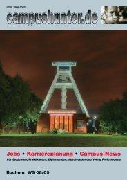 campushunter Magazin Bochum Wintersemester ... - campushunter.de