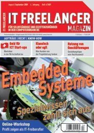 IT Freelancer Magazin Nr. 4/2009