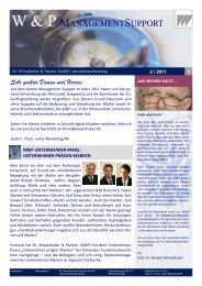 Management Support 02/2011 - Dr. Wieselhuber & Partner GmbH ...